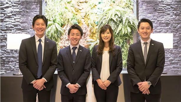 株式会社ブライダルプロデュース取締役 浦木様、長沼様、渡辺様、樋口様
