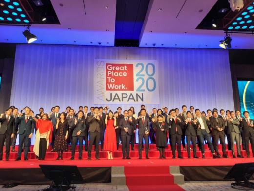 2020年版日本における「働きがいのある会社」ランキングで第1位に選出されました!
